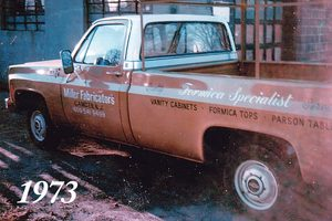 miller fabricators old truck history